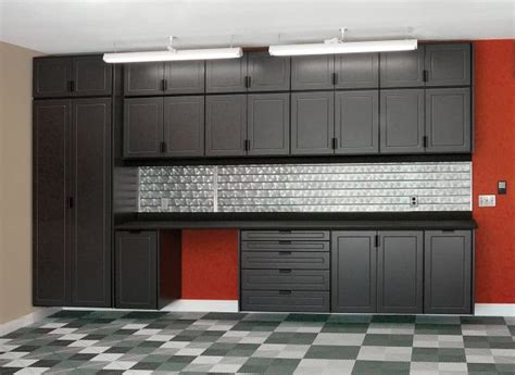 kitchen cabinets in garage design garage cabinets a recent kitchen renovation project
