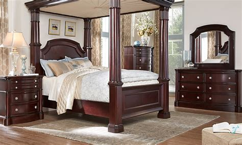 6 Size Bedroom Set by Rooms Go Bedroom Furniture Affordable Canopy