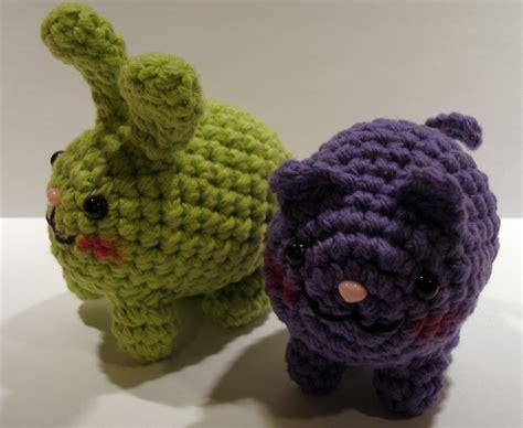 amigurumi animals nerdigurumi free amigurumi crochet patterns with
