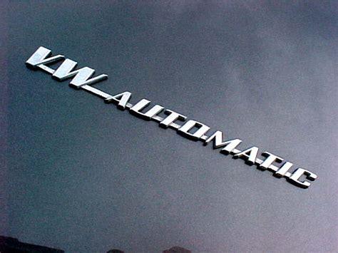 Emblem Automatic thesamba gallery vw automatic emblem