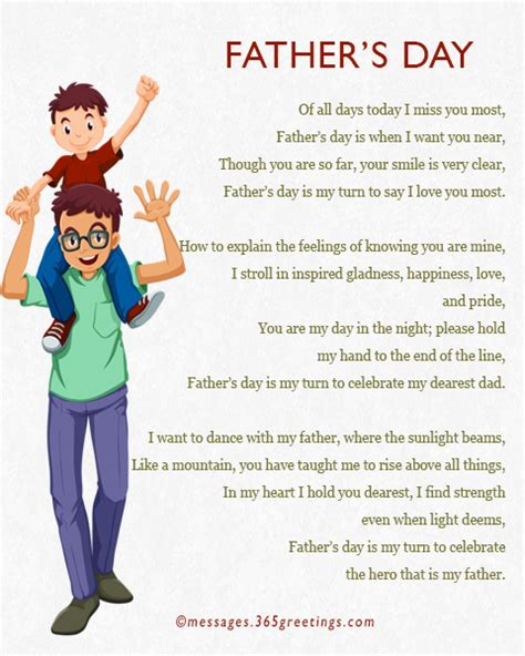 fathers day poems from fathers day poems 365greetings