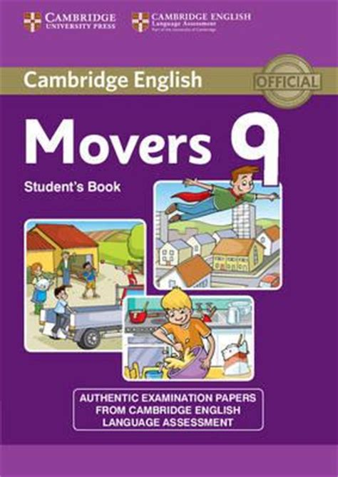 cambridge yle tests movers 1 pdf cambridge english young learners 9 movers student s book 9781107464322