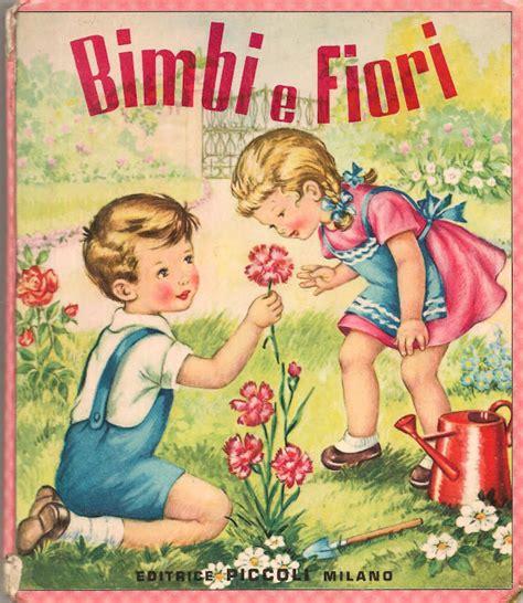 fiori e bambini soloillustratori bimbi e fiori mariapia