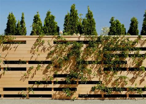 Cloture Jardin 224 by Decoration Cloture Exterieur Maison 3 D233co Mur