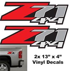 gmc z71 4x4 decals autos post