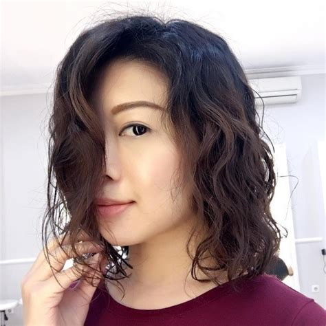 lob with wavy perm lob asian hair products 8 modern and stylish ways to work