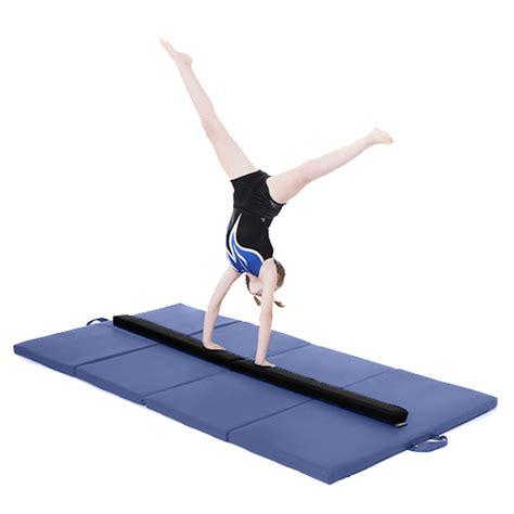 gymnastics folding balance beam 2 1m wearing faux
