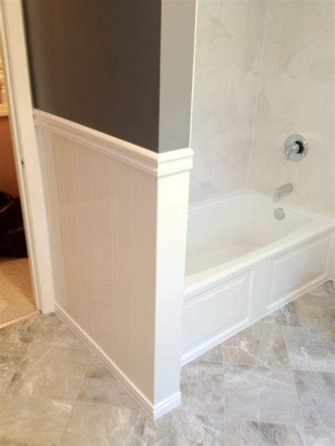 waterproof beadboard paneling acrylic wainscoting installed in one day south shore