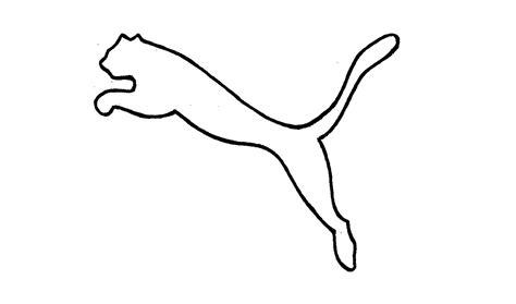 imagenes nike para dibujar how to draw the puma logo symbol emblem youtube