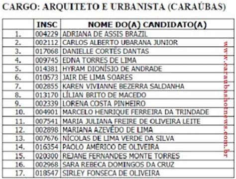 ja saiu a lista dos aprovados no concurso de candeias 2016 ufersa divulga lista dos aprovados no concurso p 250 blico