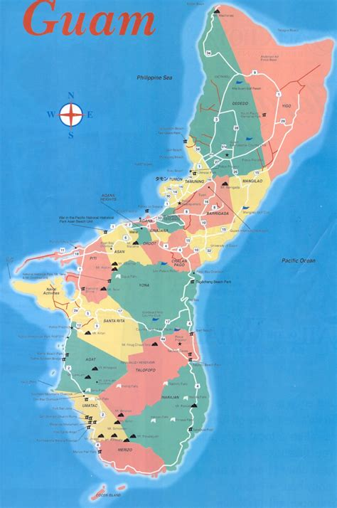 map guam willgoto guam usa maps