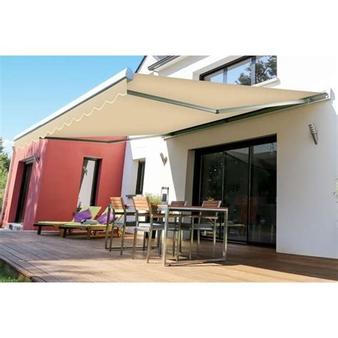 10 ft awning advaning slim 10 ft manual retractable patio awning in