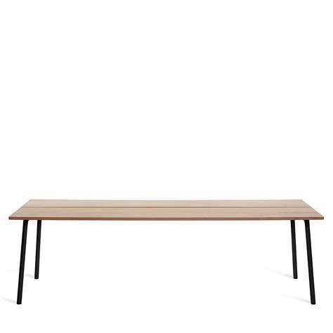 96 inch table emeco run table 96 inch modern planet