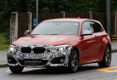 bmw f21 facelift bmw f21 m135i facelift goes out for tests barely