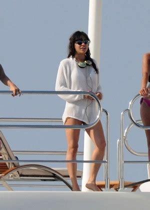 michelle rodriguez yacht michelle rodriguez on a yacht in st tropez gotceleb