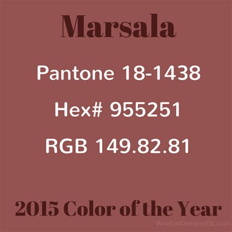 color marsala marsala pantone 2015 color of the year in interior design