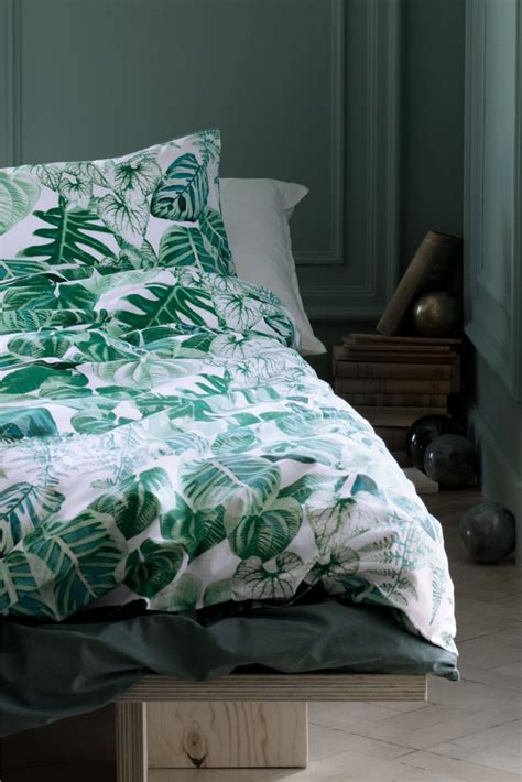 botanical bedding 6 ways to nail the botanical trend in your home tidylife