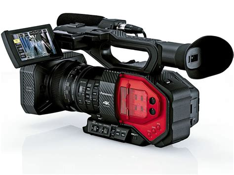 4k panasonic panasonic ag dvx200 4k camcorder with 4 3 sensor and zoom