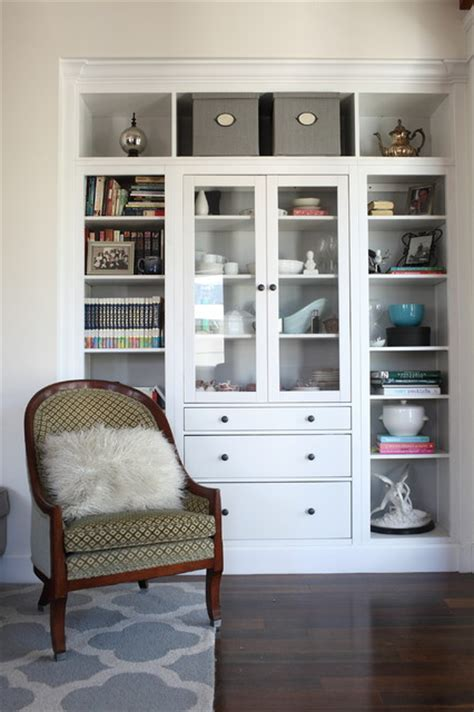 houzz built in bookcases my houzz 1940s fixer upper grows up with the family