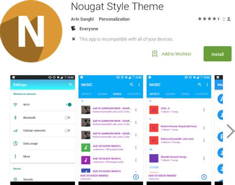 themes for android nougat how to get android nougat features on your device without