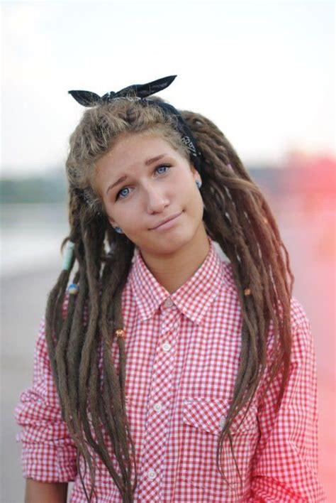rastahair styel white rasta hair is trending dreads white girl style