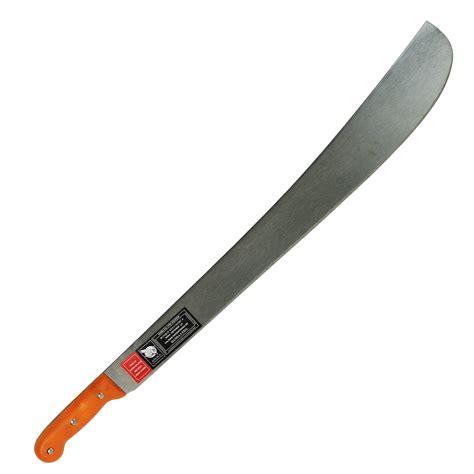 handle machete hansa 24 inch lon aguila machete with orange handle