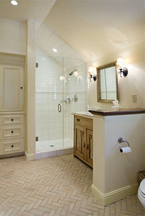 attic bathroom sloped ceiling pinterest discover and save creative ideas