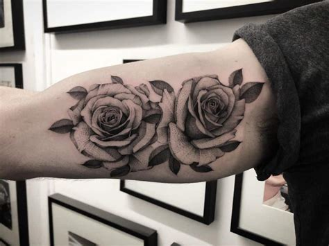 history  meaning   rose tattoo chronic ink