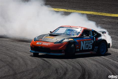 nissan 370z drift wallpaper desktop chris forsberg s nos energy nissan 370z drifted com