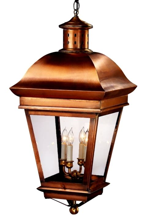 copper lantern pendant light legacy pendant colonial copper lantern hanging light