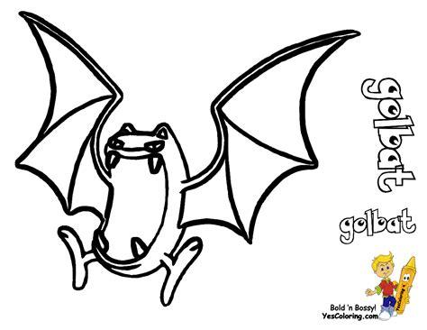 pokemon zubat coloring pages golbat images pokemon images