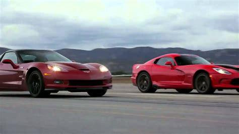srt viper vs corvette srt viper vs chevrolet corvette zr1