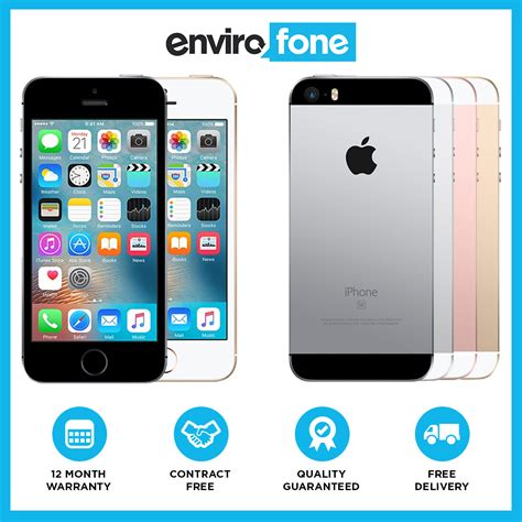 Iphone 6 16gb Second Original 100 Not Refurbished Not Rakitan Batam apple iphone se 16gb 64gb unlocked sim free refurbished smartphone ebay