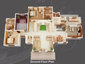 house design layout 3d evens construction pvt ltd 3d house plan 20 05 2011