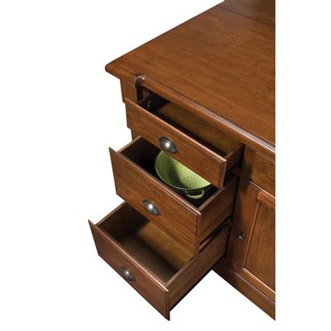 aspen rustic cherry kitchen island ebay aspen rustic cherry kitchen island home styles furniture