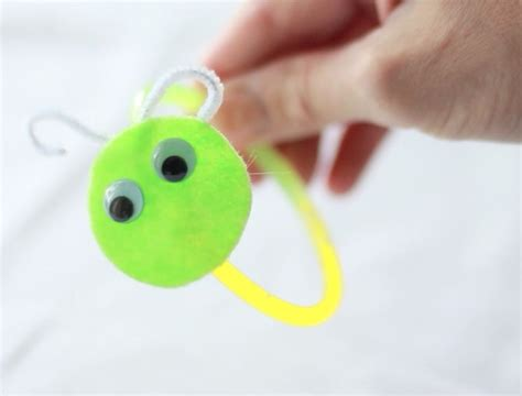 pbs crafts for glow worm bracelets crafts for