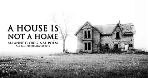 a house is not a home spillwords
