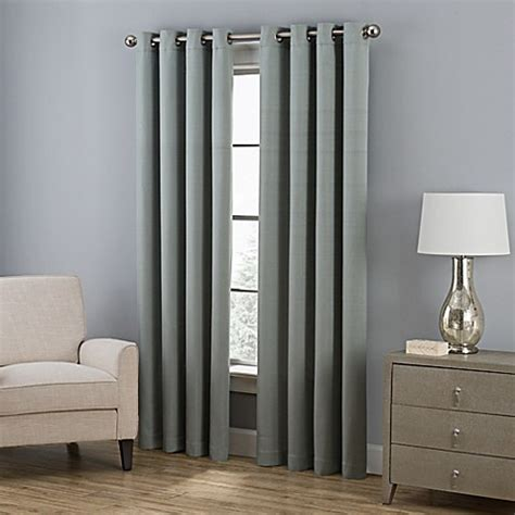 95 inch grommet curtain panels buy everett 95 inch grommet window curtain panel in