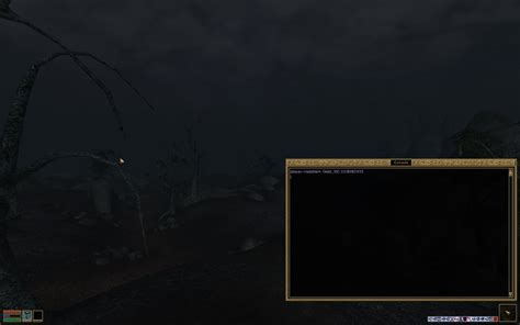 morrowind console commands abstraction and embedded languages stray pixels