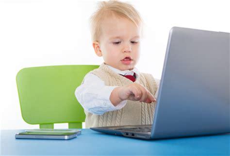 am computer kinder am computer