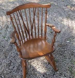 antique ethan allen rocking chair 39 best vintage furniture images on salvaged