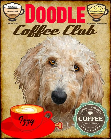 dogs with doodle in name coffee club doodle and names on