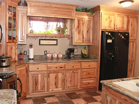 attractive Hickory Cabinet #1: custom-kitchen-cabinet-rustic-hickory-2.jpg
