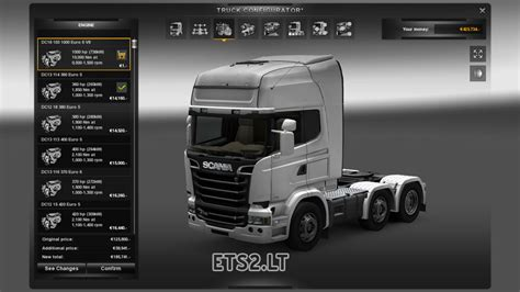 new engine new engine for all trucks ets 2 mods