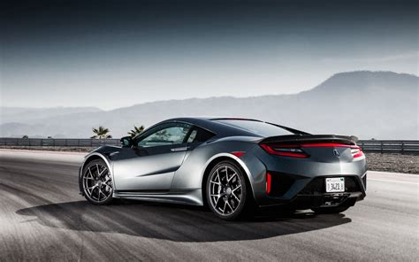 nissan acura wallpaper honda nsx acura nsx rear view 2017 cars