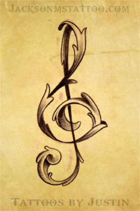 treble tattoo designs 25 best ideas about treble clef on