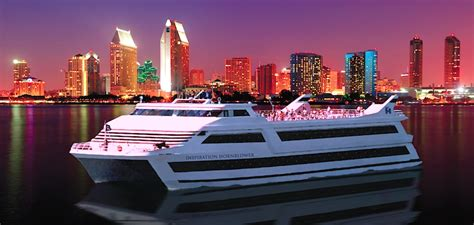 dinner boat cruise san diego hornblower offers harbor cruises dolphin whale watching