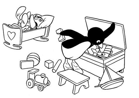 pingu coloring pages coloringpages1001 com