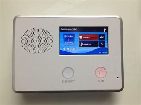 wireless touchscreen home security panel yelp