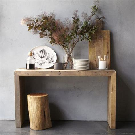 west elm sofa table emmerson console west elm